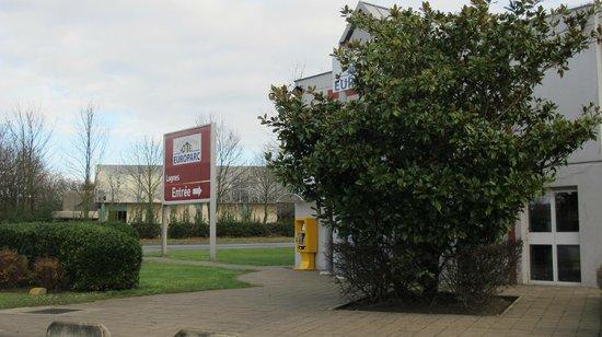 Europarc Hotel: accés extérieur