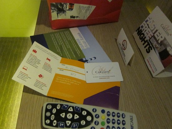Park Inn by Radisson Davao : Key card