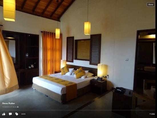Hotel Mermaid & Club: 5 star hotel we stayed in on leopard safari