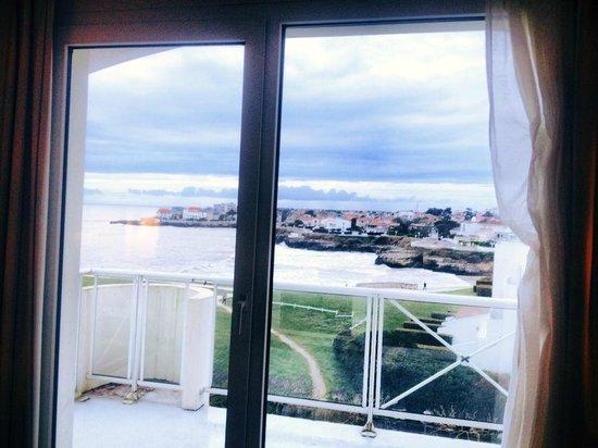 Hotel Cordouan : Vue de notre chambre