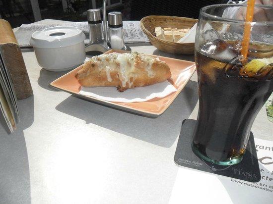 Restaurante Vinicius: Käsebaguette !