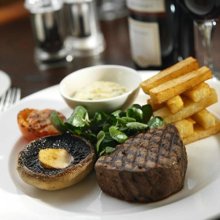 Macdonald Manchester Hotel & Spa: Fillet Steak Dish