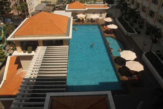 Hotel Equatorial Ho Chi Minh City: view from room