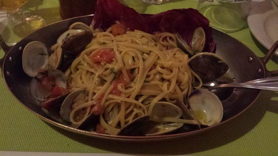 Majestic Hotel South Beach: linguine claims ( vongole ) al ristorante majestic