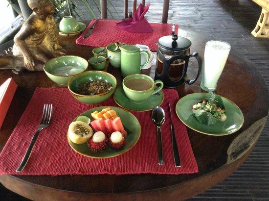 Bambu Indah: included breaksfast