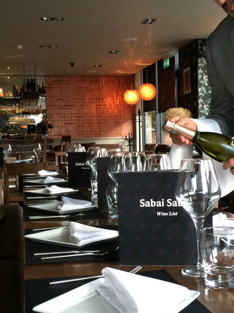 Sabai Sabai Harborne Thai Restaurant Wine Bar Birmingham