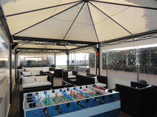 iQ Hotel Roma: terrazza