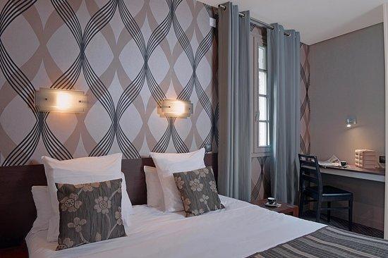 Hotel Reine Mathilde: Chambre standard