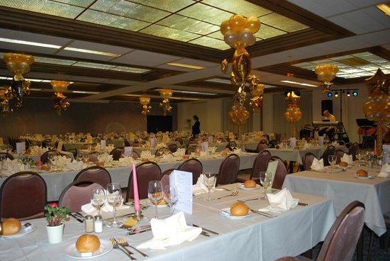 Alpine Classic Hotel Leysin : Salle des Banquets