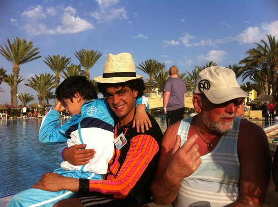 Houda Golf and Beach Club: one of the brilliant animation team