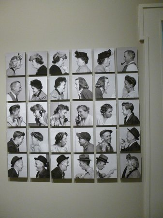 Norman Rockwell Museum: intial photos for The gossips