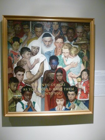 Norman Rockwell Museum: wonderful artwork