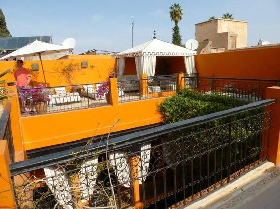 Riad Hermes: terrasse