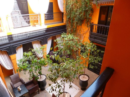 Riad Hermes: le patio