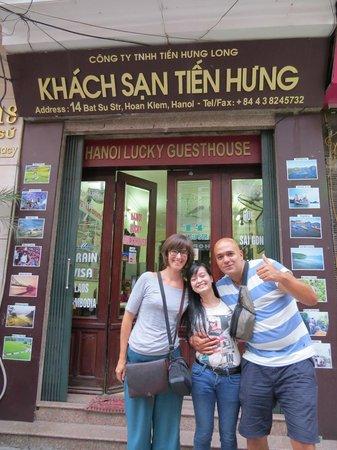 Hanoi Lucky Guesthouse - with Hanah