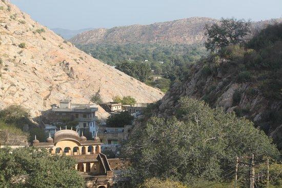 Samode Palace: Une vue magnifique sur la vallée
