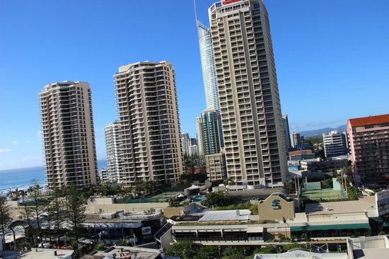 Hilton Surfers Paradise Hotel: View from Room Balcony