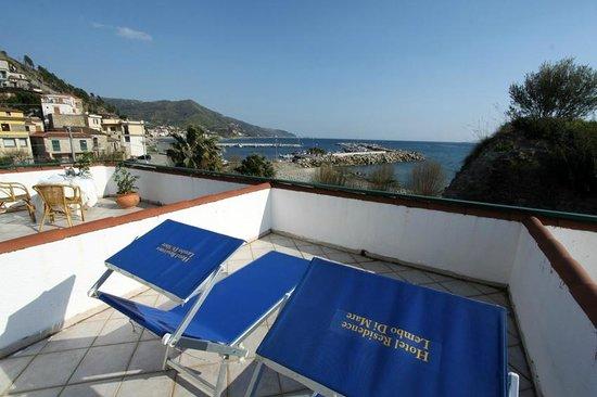 Hotel - Residence Lembo di Mare: CAMERA CON TERRAZZO VISTA MARE