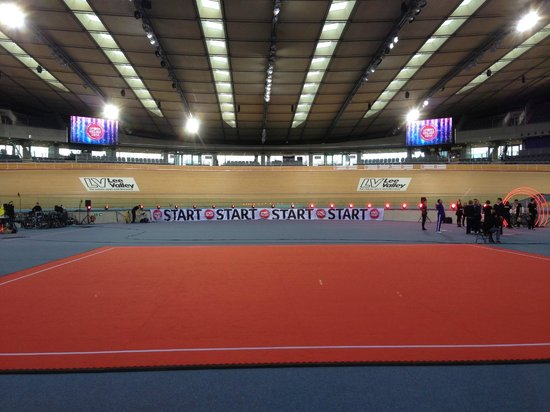 Lee Valley VeloPark: Sport Relief at the Velodrome