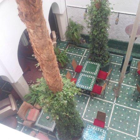 Riad Vert Marrakech: View from balcony