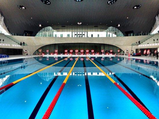 The Race Pool Picture Of London Aquatics Centre London Tripadvisor
