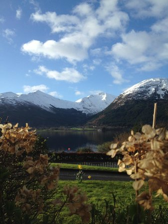 Creag Mhor Lodge : The view from our window