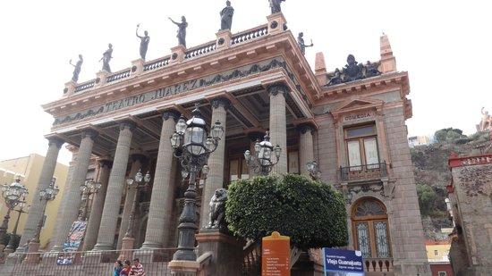 Juarez Theater (Teatro Juarez): フアレス劇場