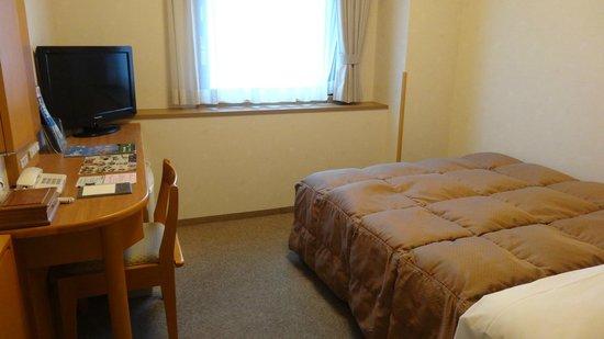 Hotel Route Inn Yamagata Ekimae: 部屋