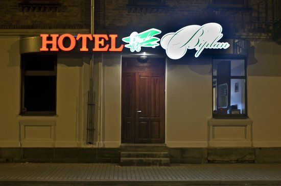 Biplan Hotel: Вход