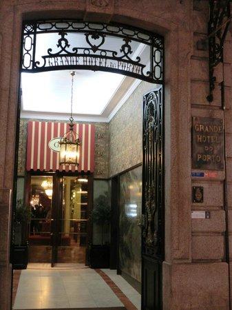 Grande Hotel Do Porto : Ingrasso dell'Hotel
