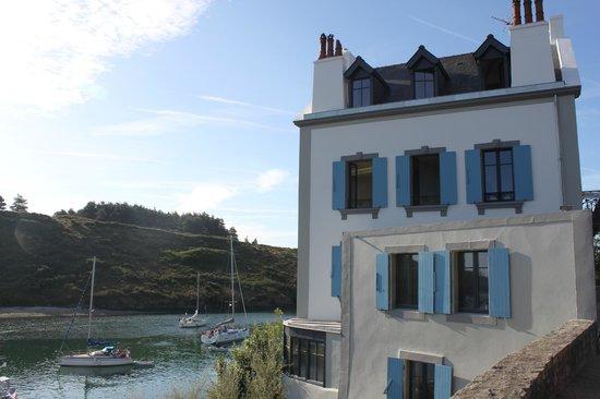 Villa Pen Prad : la maison a les pieds dans l'eau