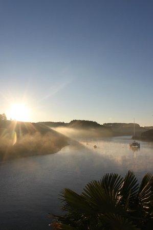 Villa Pen Prad : Au réveil, la vue est incroyable