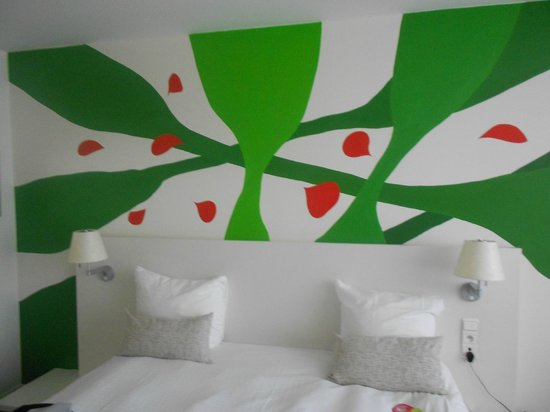 Hotel BLOOM!: Hand painted by local artist