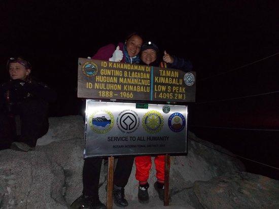 Mount Kinabalu: Reaching the top