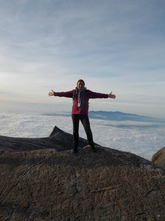 Mount Kinabalu : On the top