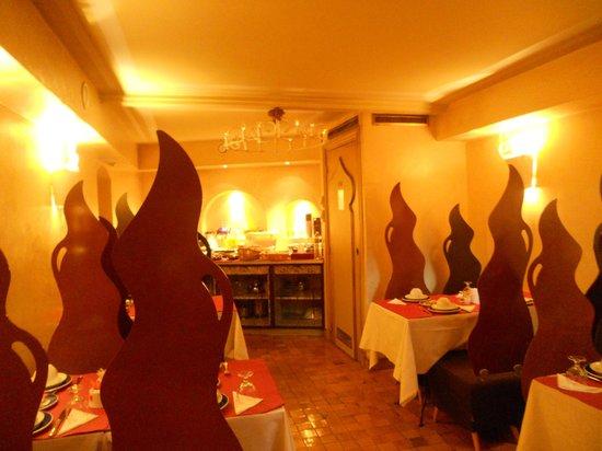 Villa Royale Montsouris: Breakfast area
