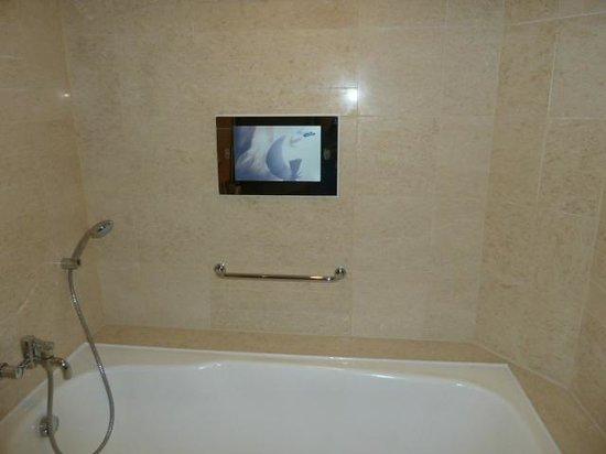 The Manila Hotel: tv over bath