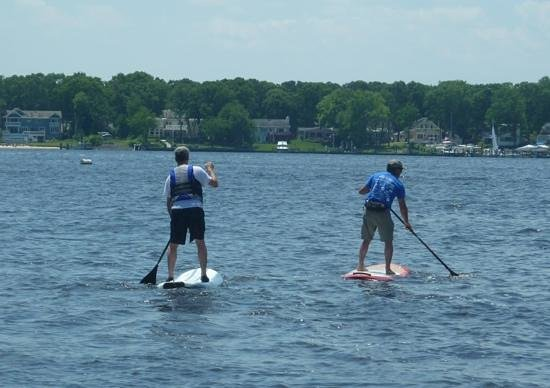 Paddle Surf New Jersey : National SUP Day, Windward Beach, summer 2013
