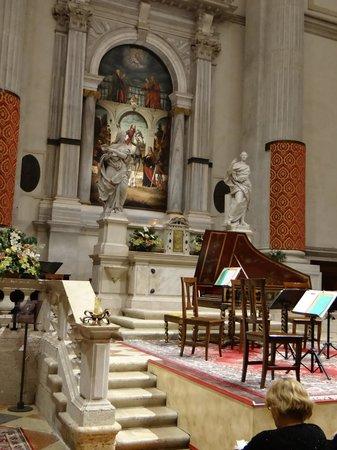 Interpreti Veneziani : Stage from our seats