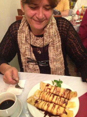 Hanoi Charming Hotel: Pancakes for breakfast