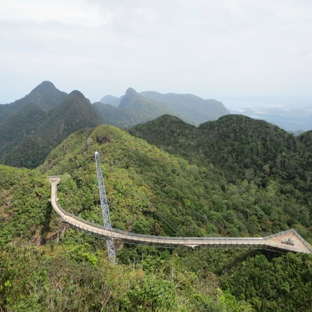 Langkawi District, Malasia: gunung mat cincang