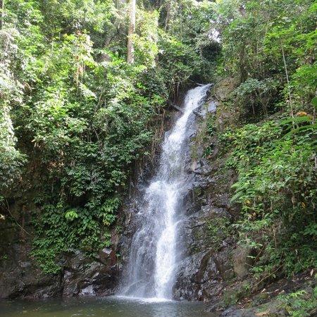 Langkawi District, Malaysia: durian perangin waterfall