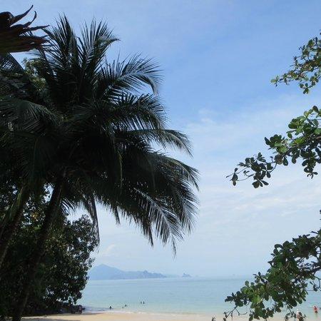 Langkawi District, Malaysia: pantai pasir tengkorak