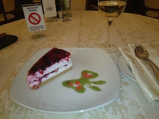 Hotel Moskva: RESTAURANT TCHAIKOVSKY, DELICIOUS CHEESE CAKE