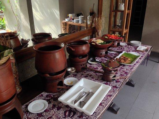 Rumah Batu Villa & Spa: sarapan pagi