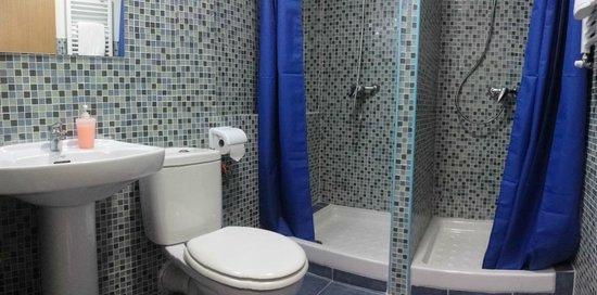 Upstairs bathroom plumbing