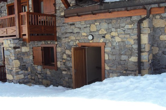Residence CGH les Cimes Blanches - La Rosiere 1850 : Sortie piste