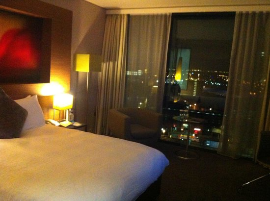 Hilton Manchester Deansgate : My Room
