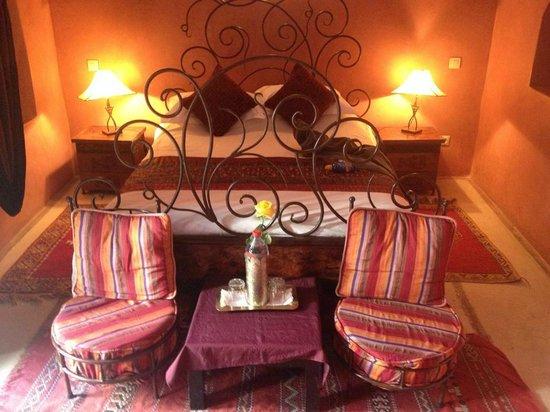 Riad Les Trois Mages: Arabesque room