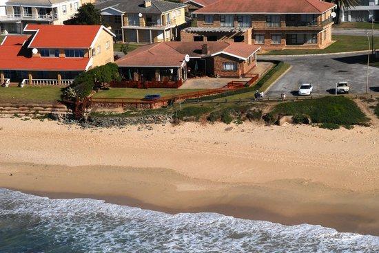 Jeffreys Bay Beach House: Aerial View